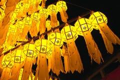 Lampada tailandese di stile Fotografia Stock Libera da Diritti