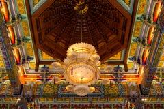 Lampada in tempio cinese Fotografia Stock