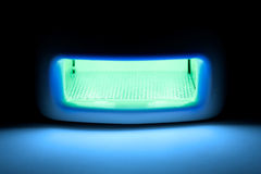 Lampada ultravioletta. Immagine Stock