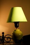 Lampada verde Fotografie Stock Libere da Diritti