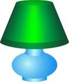 Lampada verde Immagini Stock Libere da Diritti