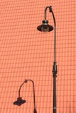 lampadaire Image stock