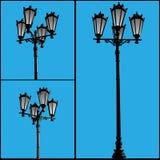 lampadaire Photo libre de droits