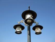 Lampadaire de réverbère Image libre de droits