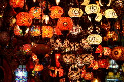 Lampadari a bracci di Colourfull Fotografie Stock