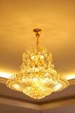 Lampadari a bracci di vetro Fotografie Stock