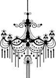 Lampadario a bracci royalty illustrazione gratis