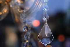 Lampadario a bracci a cristallo Fotografia Stock