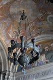 Lampadario a bracci della cattedrale della st Alexander Nevsky Fotografia Stock