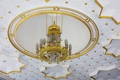 Lampadario a bracci della moschea Fotografia Stock Libera da Diritti