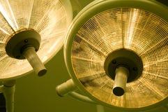 Lampade chirurgiche Fotografie Stock