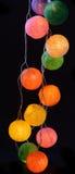 Lampade Colourful  Fotografia Stock