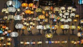 Lampade Colourful del mosaico archivi video