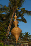 Lampade decorative, Boracay, Filippine Fotografia Stock