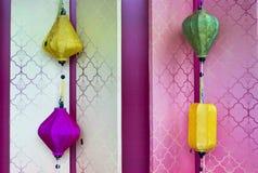 Lampade decorative cinesi Immagine Stock Libera da Diritti