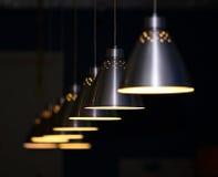 Lampade del metallo Fotografia Stock Libera da Diritti