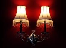 Lampade della stanza fotografie stock libere da diritti