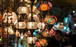 Lampade di Alladin Fotografia Stock Libera da Diritti