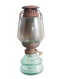Lampade di cherosene antiche Immagine Stock