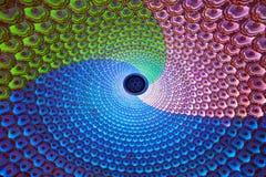 Lampade di colore - luci di Lotus Fotografie Stock Libere da Diritti