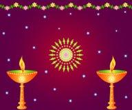 Lampade di Diwali royalty illustrazione gratis