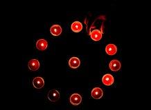 Lampade di Diwali fotografia stock libera da diritti