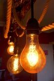 Lampade di Edison Fotografia Stock Libera da Diritti