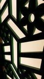 Lampade di legno del progettista del mestiere Fotografia Stock