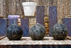 Lampade di olio marocchine Immagine Stock