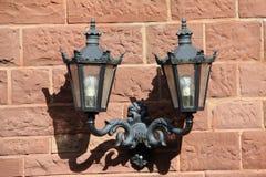Lampade di via Fotografie Stock