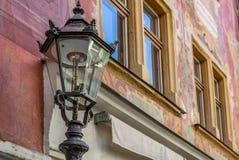 Lampade di via in Chur in Svizzera Fotografia Stock