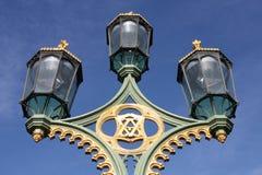 Lampade di via di Londra Fotografie Stock