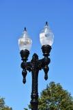 Lampade di via eleganti Fotografie Stock