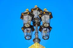 Lampade di via tradizionali di Londra immagine stock libera da diritti