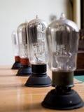 Lampade di vuoto fotografie stock libere da diritti
