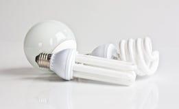 Lampade fluorescenti Immagini Stock