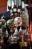 Lampade marocchine Immagine Stock