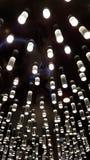 Lampade moderne sul soffitto Fotografia Stock Libera da Diritti