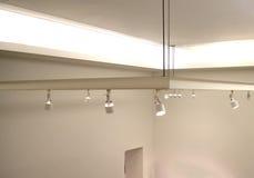 Lampade sul soffitto Fotografie Stock Libere da Diritti