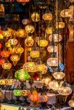 Lampade turche Immagine Stock
