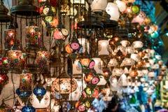 Lampade turche da vendere Fotografia Stock