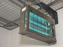 Lampade ultraviolette utilizzate per sterilizzare aria Immagini Stock Libere da Diritti