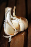 Lampadina affumicata dell'aglio Immagini Stock