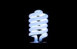 Lampadina blu Fotografie Stock Libere da Diritti