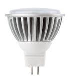 Lampadina del LED isolata su bianco Immagini Stock Libere da Diritti