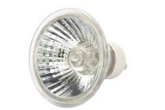 Lampadina del piccolo punto fluorescente Fotografie Stock