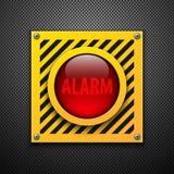 Lampadina dell'allarme. Fotografia Stock Libera da Diritti