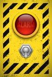 Lampadina dell'allarme. Immagini Stock
