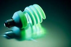 Lampadina di CFL Fotografie Stock Libere da Diritti