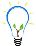Lampadina di Eco Fotografie Stock Libere da Diritti